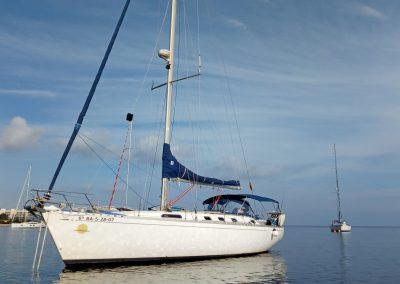 velero alquiler San Antonio Ibiza