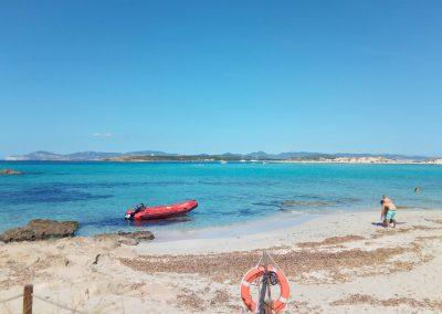 Vacaciones en velero Espalmador