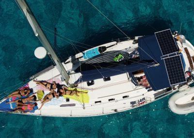 barco velero alquiler Ibiza