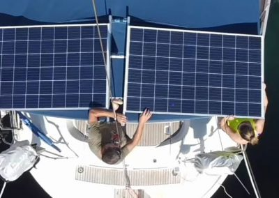 navegar Ibiza autoconsumo paneles solares
