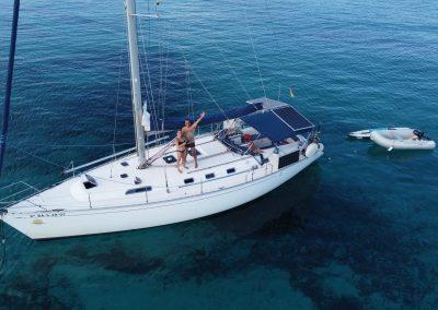 Alquiler velero con tripulación
