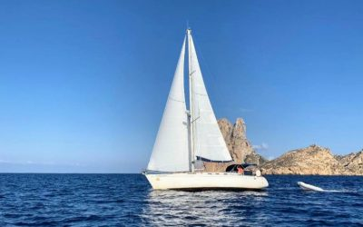 Navegar por Ibiza y Formentera Parte 1