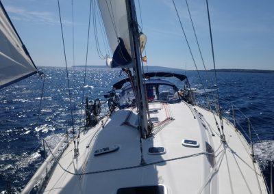 Navegar entre Ibiza y Formentera